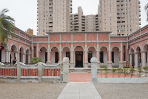 【台中‧北屯】一德洋樓│古典風情之最!融合中西的歷史建築 市區就看的到