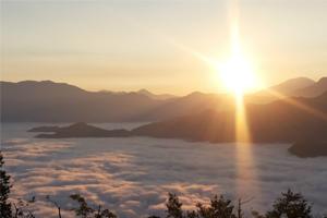 阿里山走質感路線迎曙光 看日出