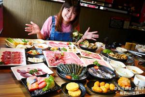 【雲林·斗六市】色鼎日式無煙燒肉 769元的豪華吃到飽套餐提供八樣絕頂食材~色鼎必吃看這邊!